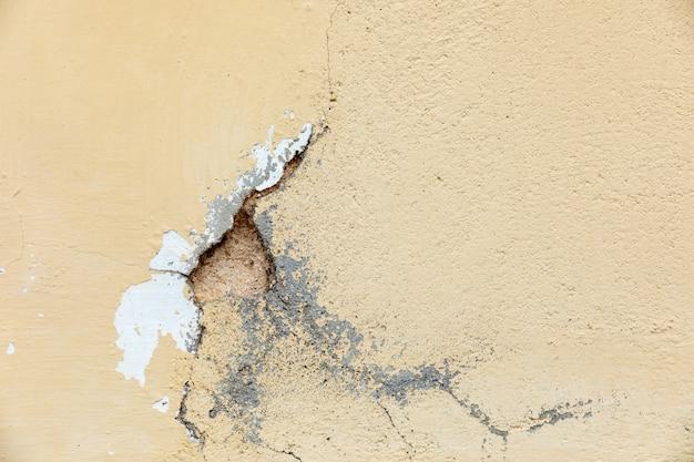 Crack dans un mur