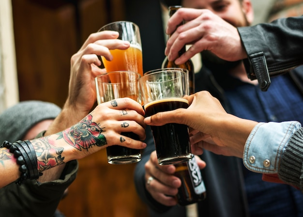 Craft beer booze brew alcohol célébrez un rafraîchissement