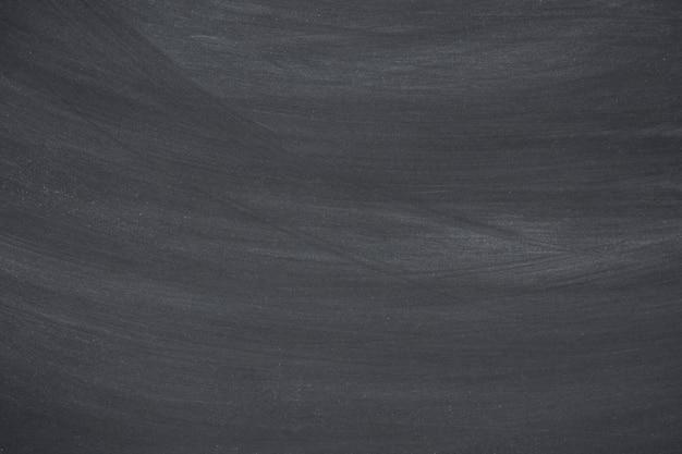 Craie effacée sur le tableau noir, espace de copie de fond de texture de tableau pour ajouter du texte et de la conception