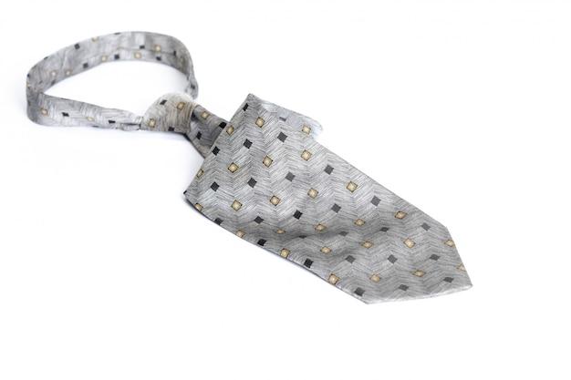 Cravate isolé sur blanc
