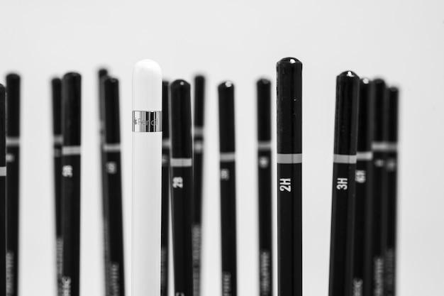 Crayon et crayons
