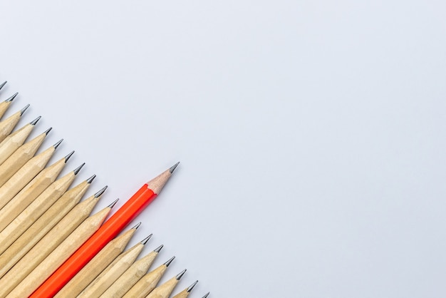 Crayon différent des autres