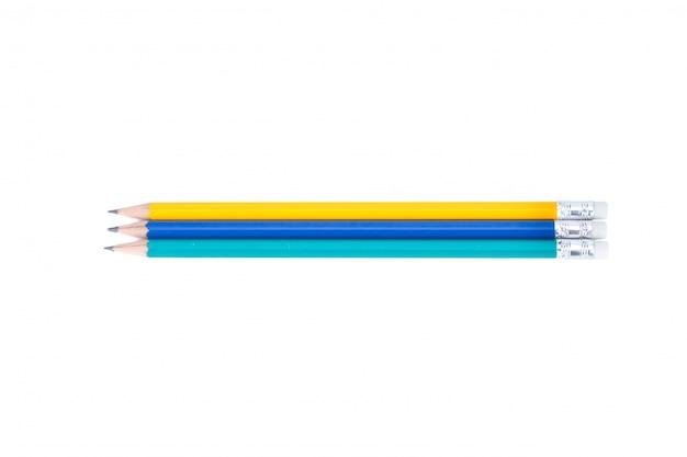Crayon isolé sur blanc