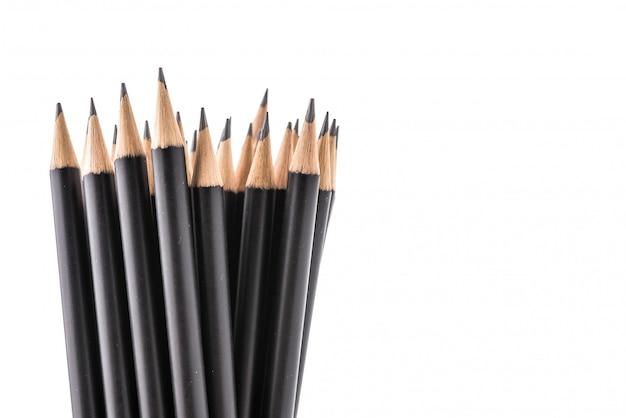 Crayon isolé sur fond blanc