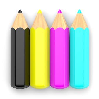 Crayons cmjn