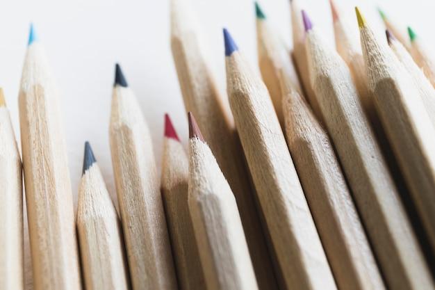Crayons de couleur close-up