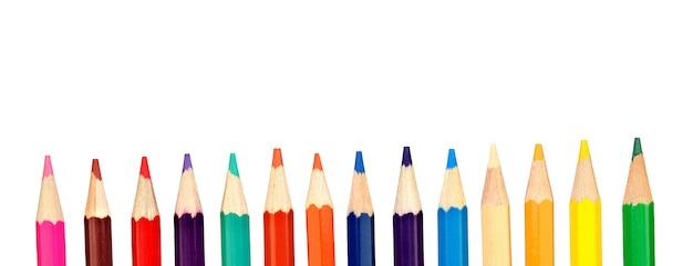 Crayons de couleur crayon