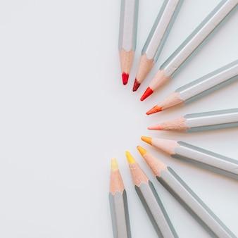 Crayons symétriques