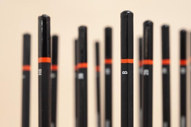 Des crayons