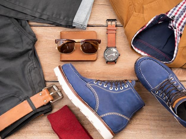 Création de mode créative pour vêtements et accessoires de loisirs pour hommes