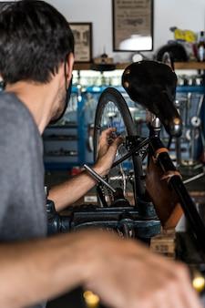 Création de vélo en atelier