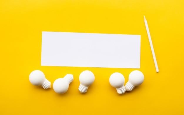 La créativité commerciale sort des sentiers battus avec ampoule