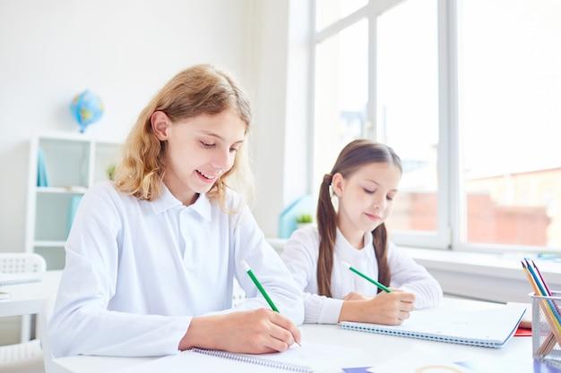La créativité de l'école