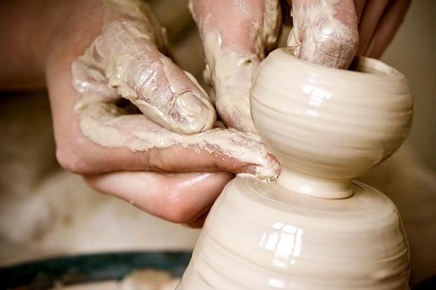 Créer un vase d'argile