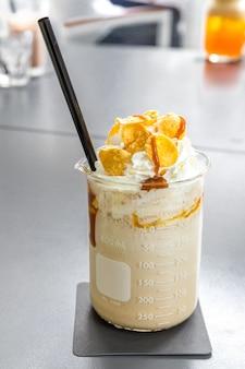 Crème brûlée frappe