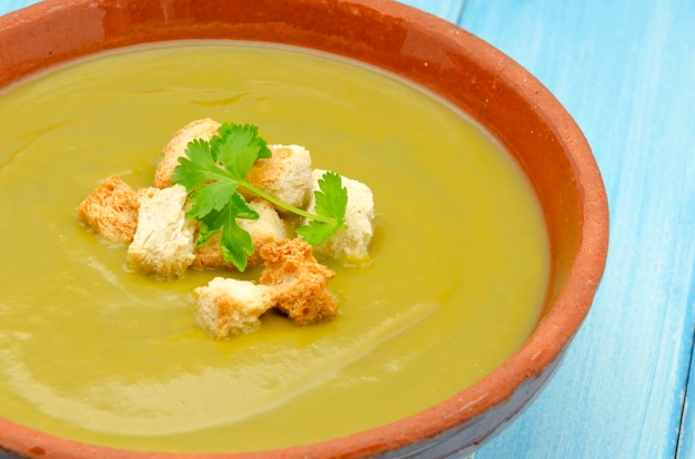 Crème de légumes mélangés