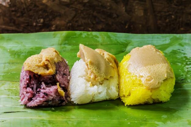 Crème de riz, dessert thaïlande