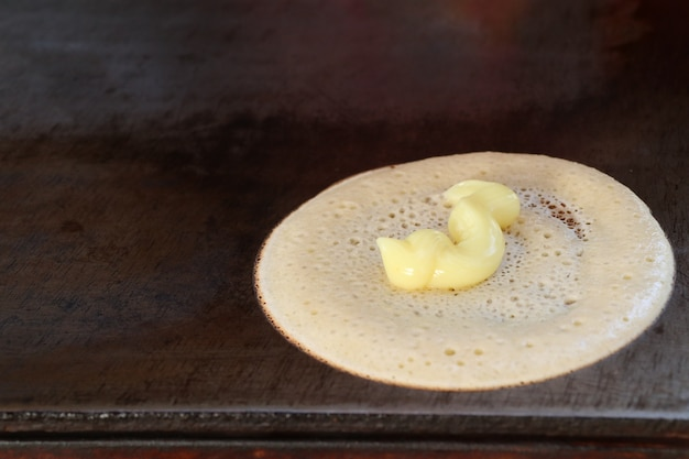 Crêpe croustillante thaïlandaise