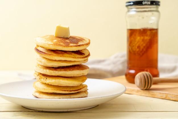 Crêpes au beurre et au miel