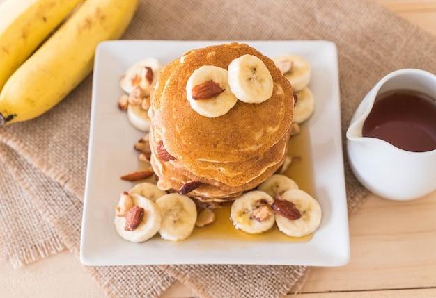 Crêpes aux bananes aux amandes