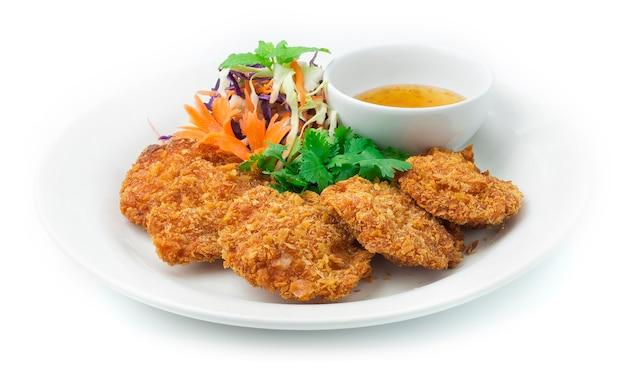 Crêpes aux crevettes cuisine chinoise frite style asiatique