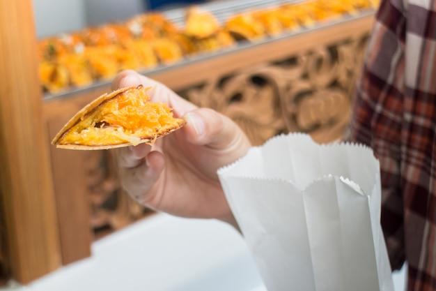 Crêpes thaïlandaises délicieuses