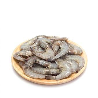 Crevettes fraîches.