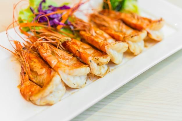Crevettes à steak