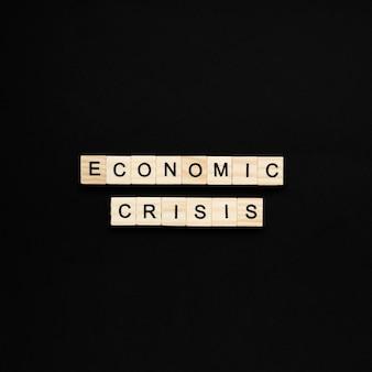 La crise économique frappe
