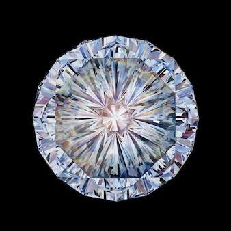 Cristal transparent multicolore sur fond sombre d illustration