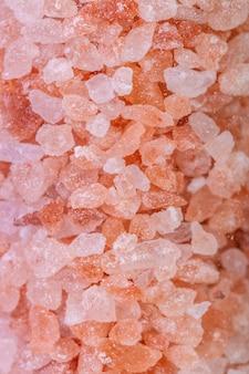 Cristaux de sel de l'himalaya