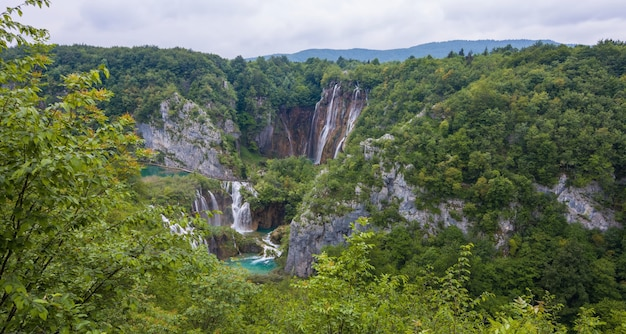 Croatie nature océan lac ciel