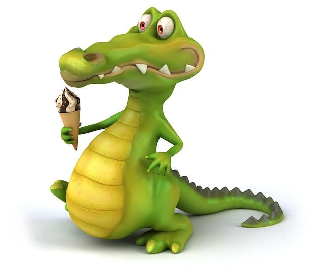 Crocodile amusant
