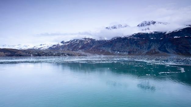 Croisière, voile, alaska, glacier bay, parc national