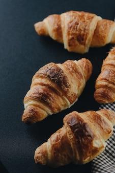 Croissants au petit déjeuner