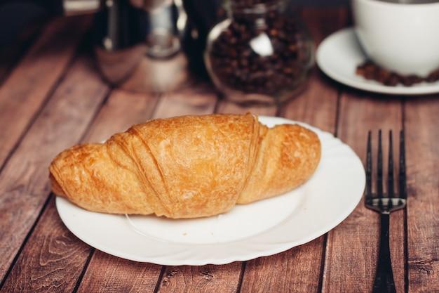 Croissants, petit déjeuner le matin