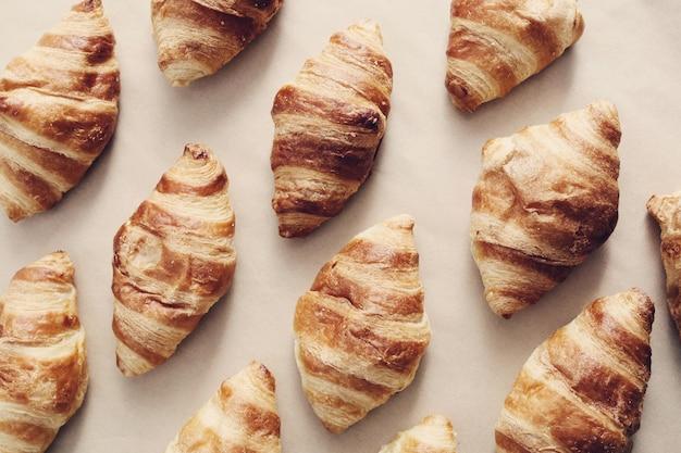 Des croissants