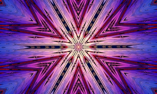 Croix violette abstraite. illustration numérique de style artistique pour le carême et la passion de jésus-christ.