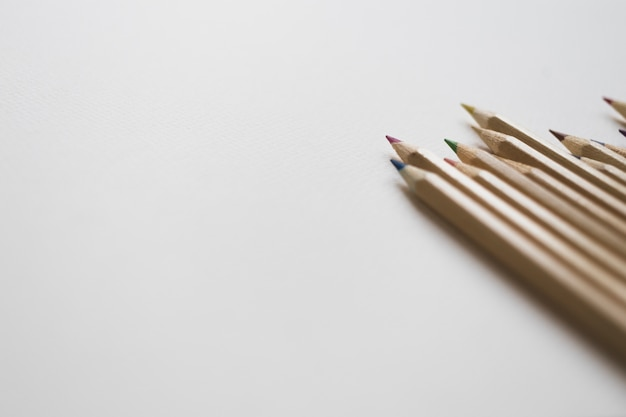 Crop set de crayons de couleur