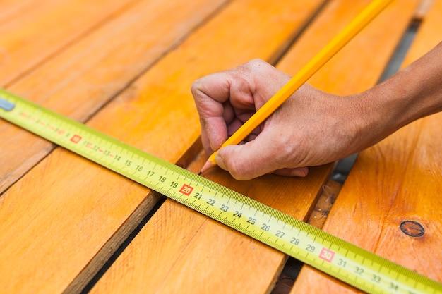 Crop table de jauge manuelle