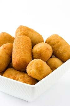 Croquettes espagnoles frites traditionnelles