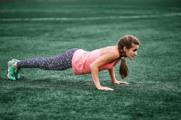 Cross fit, fitness, mode de vie sain.