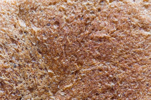 Croûte de pain extrême se bouchent