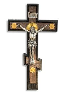 Crucifix avec la figure de jésus