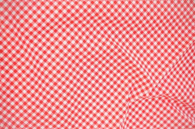 Crumble tissu à carreaux rose classique ou fond de nappe