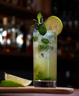 Cuban mojito lemon mint herb good
