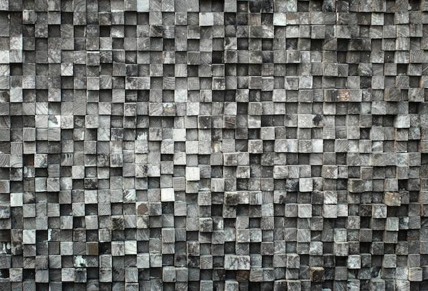 Cube bois noir