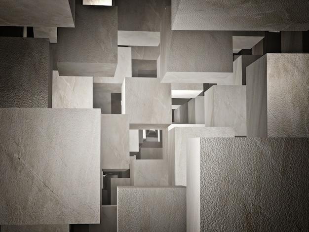 Cubes abstraits