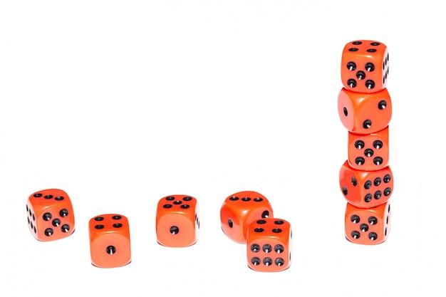 Cubes pour jeux de société