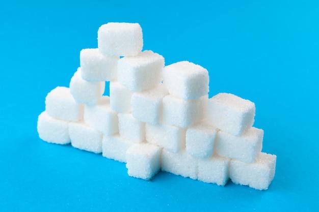 Cubes de sucre blanc